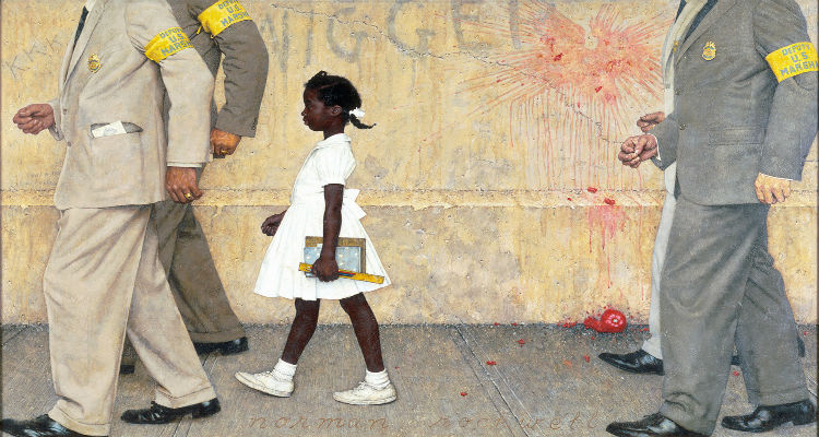 Norman Rockwell's 1964 _Look_ Magazine cover, 1964.