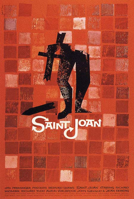 Bass poster for Saint Joan