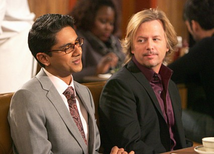 Adair Kalyan and David Spade in RULES OF ENGAGEMENT