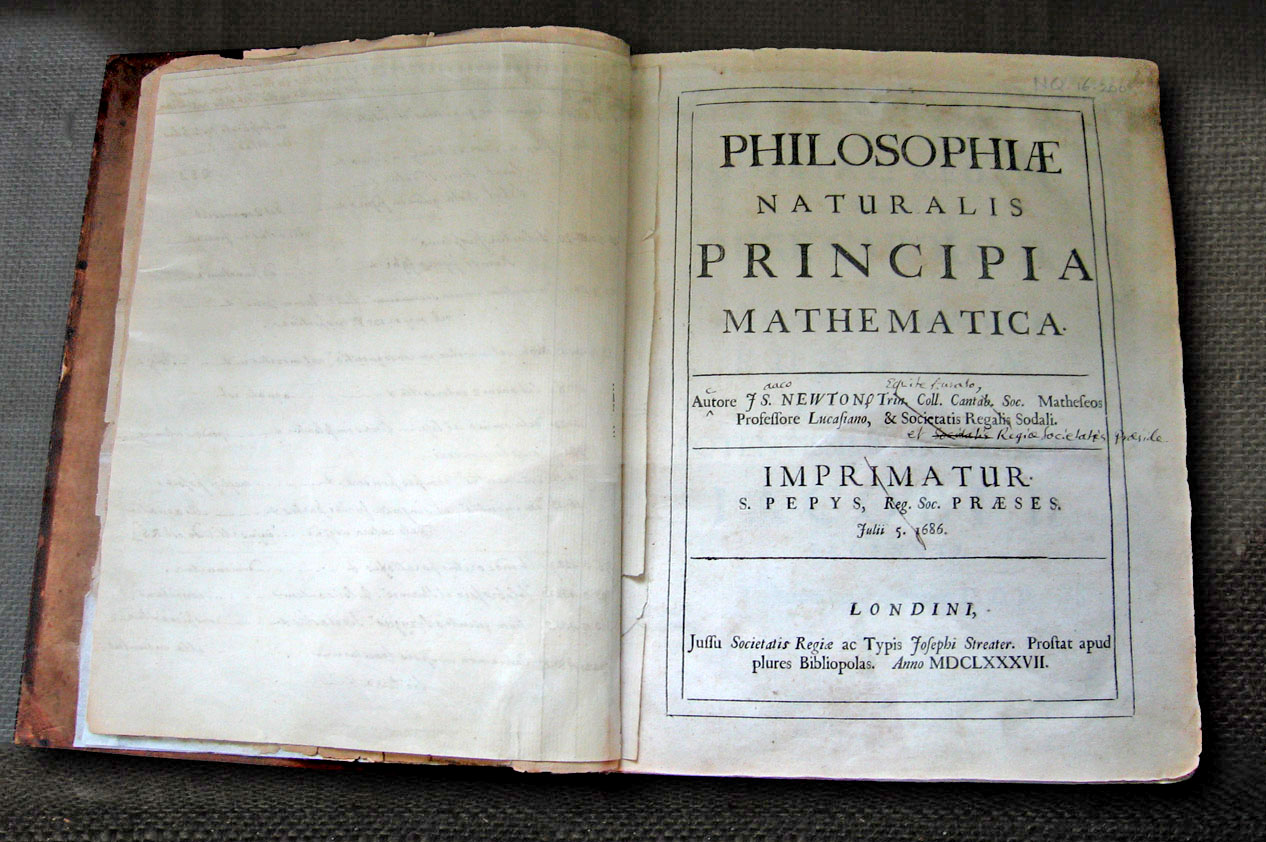 A book containing an Imprimatur notice.