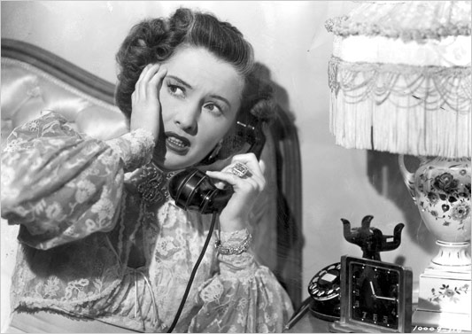 Barbara Stanwyck in SORRY, WRONG NUMBER